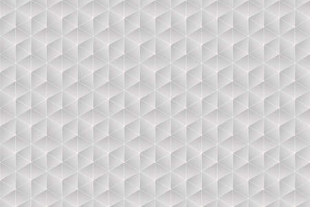 White and warm grey texture composed of symmetrical triangles Banco de Imagens