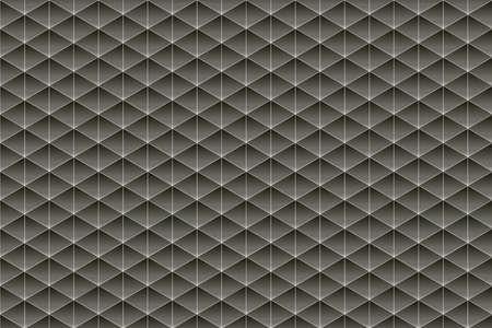 trigonal: Black and deep warm grey texture composed of symmetrical triangles