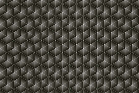 trigonal: Black and deep warm grey texture composed of symmetrical triangles