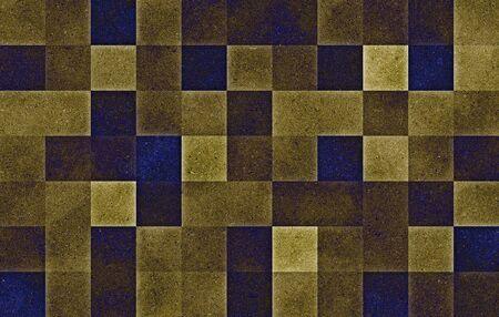 Gradient geometric square blocks. Glitter texture. Abstract background. Stock fotó