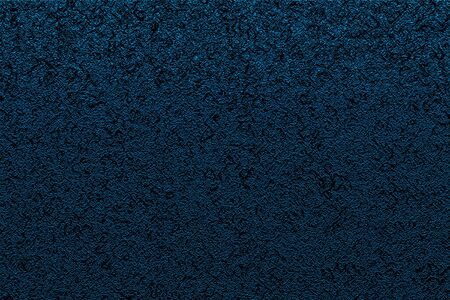 Abstract texture. Black swirls on dark blue background. Pattern for decor, fashion design