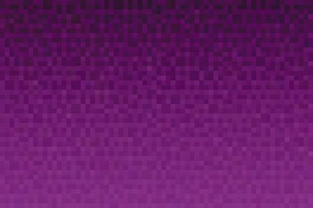 Abstract magenta gradient background. Texture with pixel square blocks. Mosaic pattern.