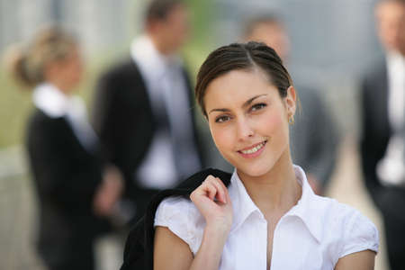 Portrait of a beautiful businesswoman Stock Photo - 7252011