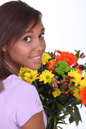 Woman florist Stock Photo - 10746824