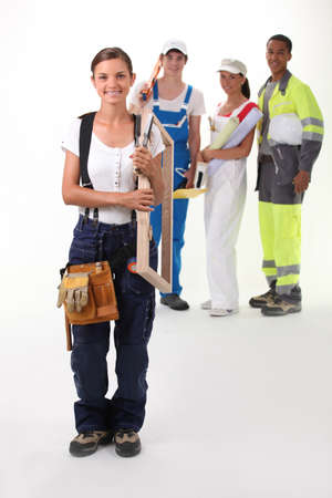 steel works: Careers Stock Photo