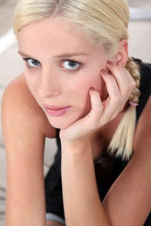 Pretty blonde woman Stock Photo - 10746767