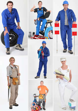 manual job: Manual occupations Stock Photo