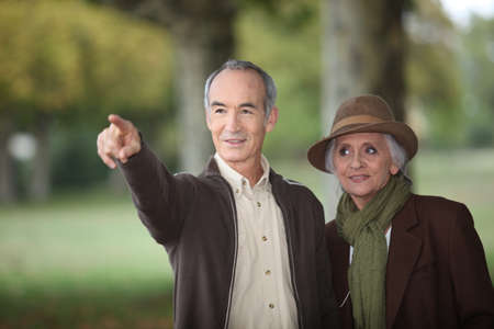 elderly citizen and his spouse Stock Photo - 10746196