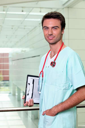 a male nurse Stock Photo - 10747373