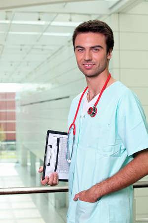a male nurse Stock Photo - 10747373