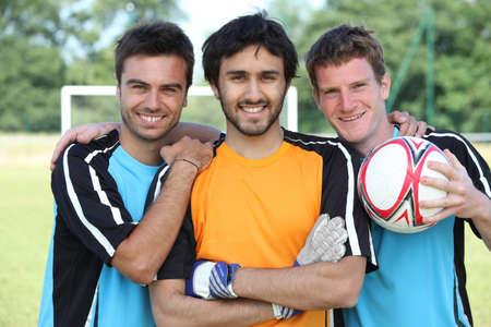 Football players Stock Photo - 10747306