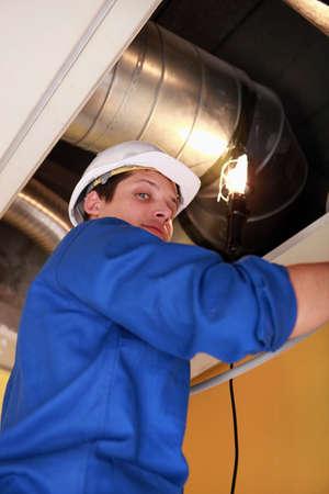 inspecting: Plumber