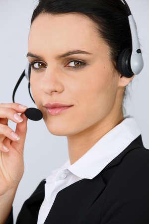 Telephonist Stock Photo - 10783569