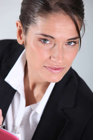 businesswoman close-up Stock Photo - 10782794