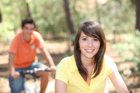 country side: Cycling holiday