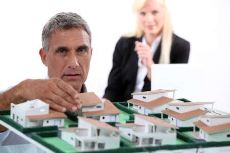 Estate agent Stock Photo - 10782598