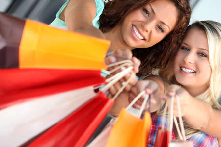 A day out shopping Stock Photo - 10783501
