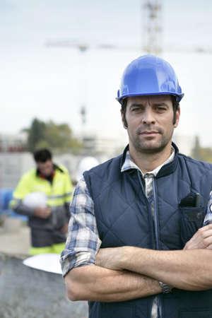 white collar worker: Confident foreman