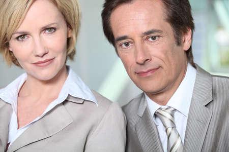 Male and female executives Stock Photo - 10854991