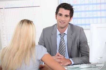Interview Stock Photo - 10854338