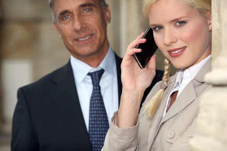Business couple Stock Photo - 10853665