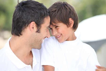otec: Otec a syn Reklamní fotografie