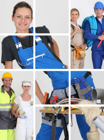 Building professionals photo