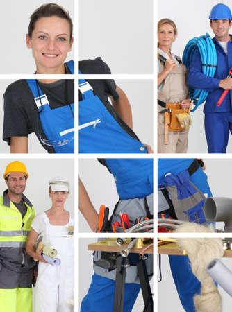 Building professionals Stock Photo - 10852871