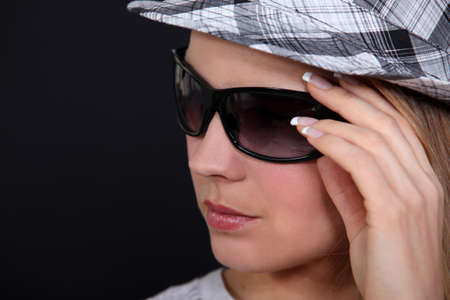 A female model in summer outfit. Stock Photo - 10852740