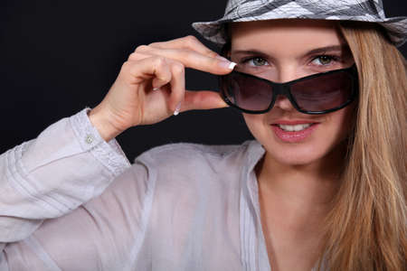 Model in summer fashion. Stock Photo - 10854512