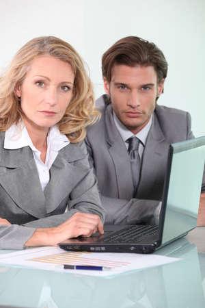 collaborators: business collaborators Stock Photo