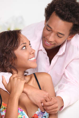 A nice african-american couple. Stock Photo - 10855274