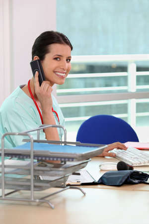 Medical secretary photo