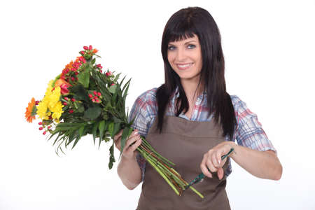 female florist photo