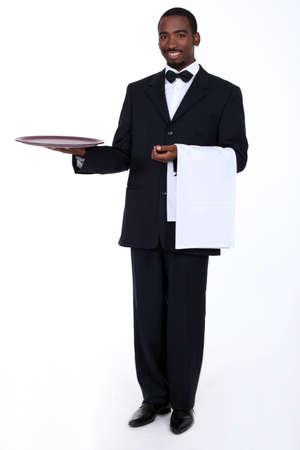 číšník: Butler se prázdný zásobník