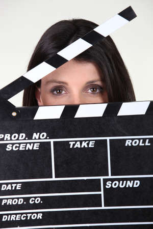 Movie producer Stock Photo - 11049542