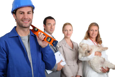 different jobs Stock Photo - 11049529