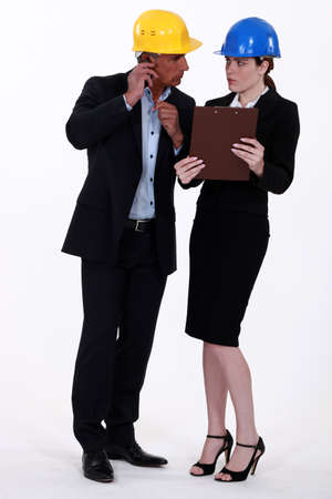 glaring: Woman glaring at her colleague