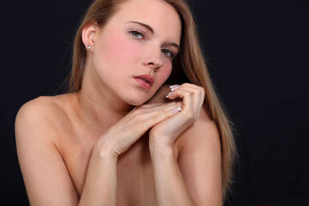 A portrait of a nude woman. Stock Photo - 11049771