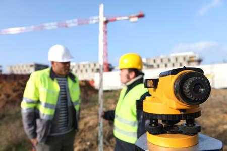 surveyors: Surveyors on site