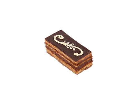 chocolaty: Slice of chocolate cake