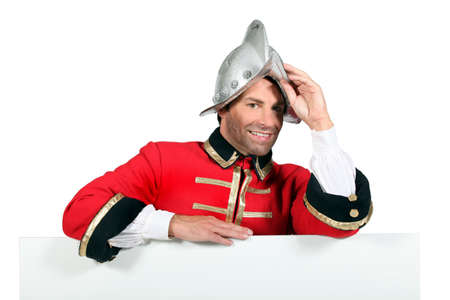portrait of a man in costume Stock Photo - 11050760