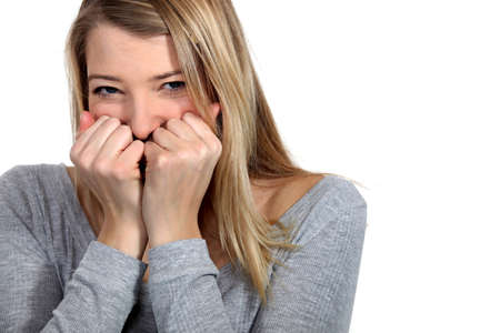 Woman laughing Stock Photo - 11176011