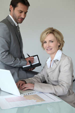 Executives making an appointment Stock Photo - 11088226