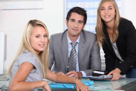 portrait of a business team Stock Photo - 11717797