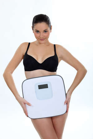my scale is not an enemy anymore Stock Photo - 11717650