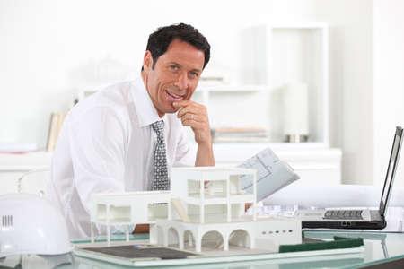 prototype: Estate agent Stock Photo