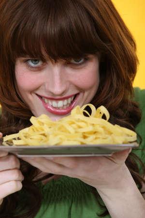 yummy pastas photo
