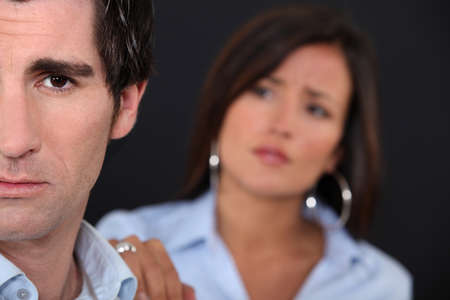 forgiveness: Couple having a disagreement