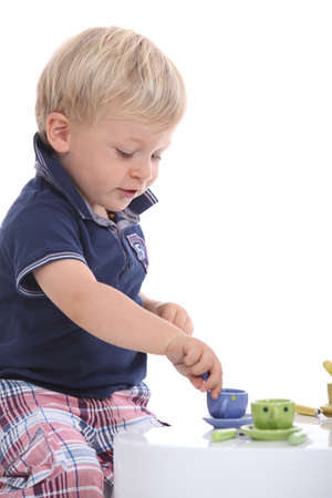 little boy playing Stock Photo - 11717710
